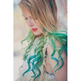 Funky color verde
