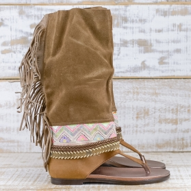 NATIVE SOUL BROWN LEATHER 39