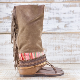 NATIVE SOUL BROWN LEATHER 36