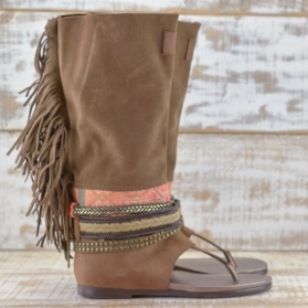 NATIVE SOUL BROWN LEATHER 41