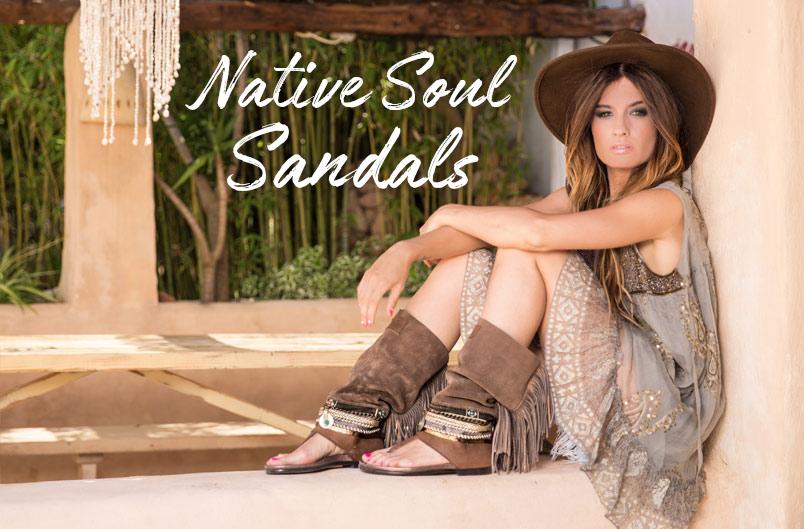 Sandalias Native Soul