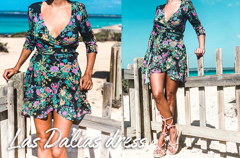 Las Dalias Dress