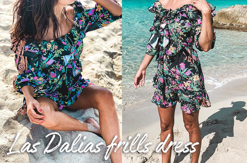 Las Dalias Dress Frills