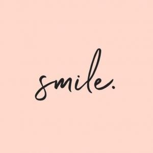 Smile... 🤍✨