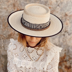 Our new spring/summer Isla hats are #handmade out of the finest #palmaimperial and 100% made in Spain!  . . #ibiza #hatlover #festivalhat #festival #bohohat #hat #hoet