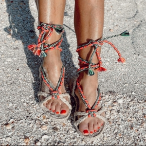 ☀️Sun kissed in our Formentera rope sandals 💓 Now on sale!!! 📲🛍🛒 . . #ibiza #summer #sandals #style #ropesandals #amor #boho